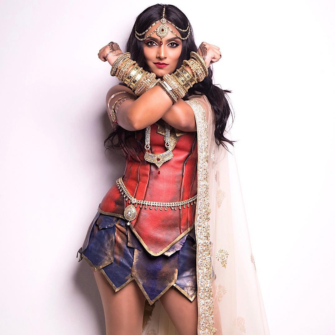 Deepica Mutyala as Wonder Woman