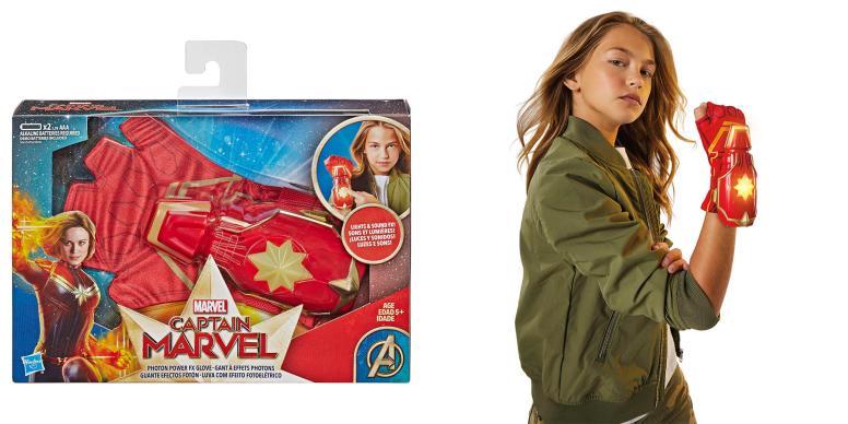 Captain Marvel Photon Power FX Glove - Hasbro - MSRP: $15.99