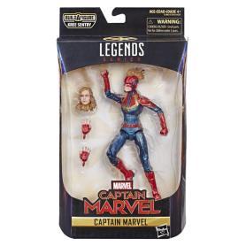 "Captain Marvel Legends Series 6"" Figure - Hasbro - MSRP: $19.99"