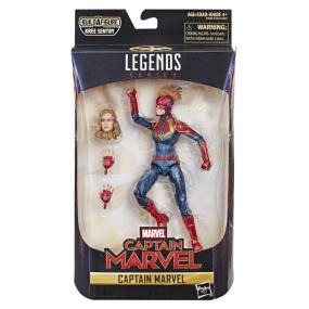 "Captain Marvel Legends Series 6"" Figure - Hasbro - MSRP: $19.99"