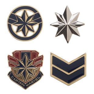Captain Marvel Pins