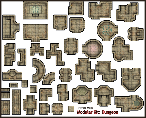 dungeons and dragons tiles