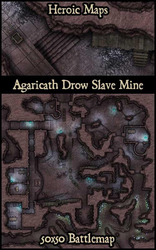 Heroic Maps  Agaricath Drow Slave Mine  BoLS GameWire