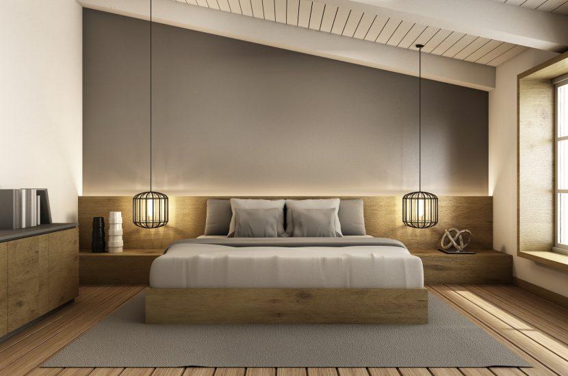Schlafzimmer Farbe Farbe wohnen Raum einrichten gestalten