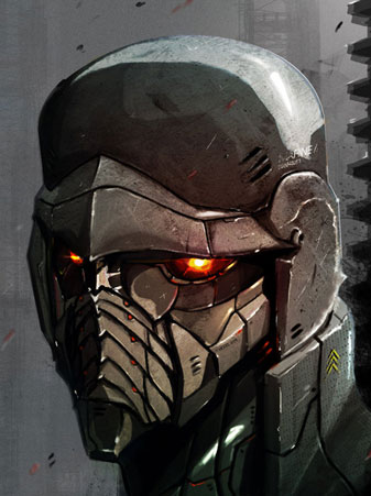 The gallery for gt Futuristic Combat Helmets