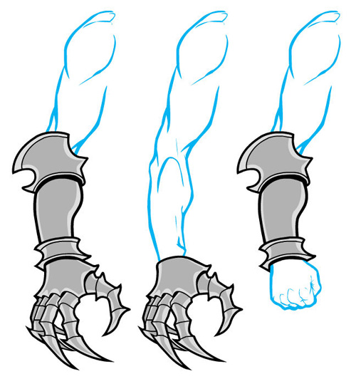 Anime Cat Claw Gauntlets