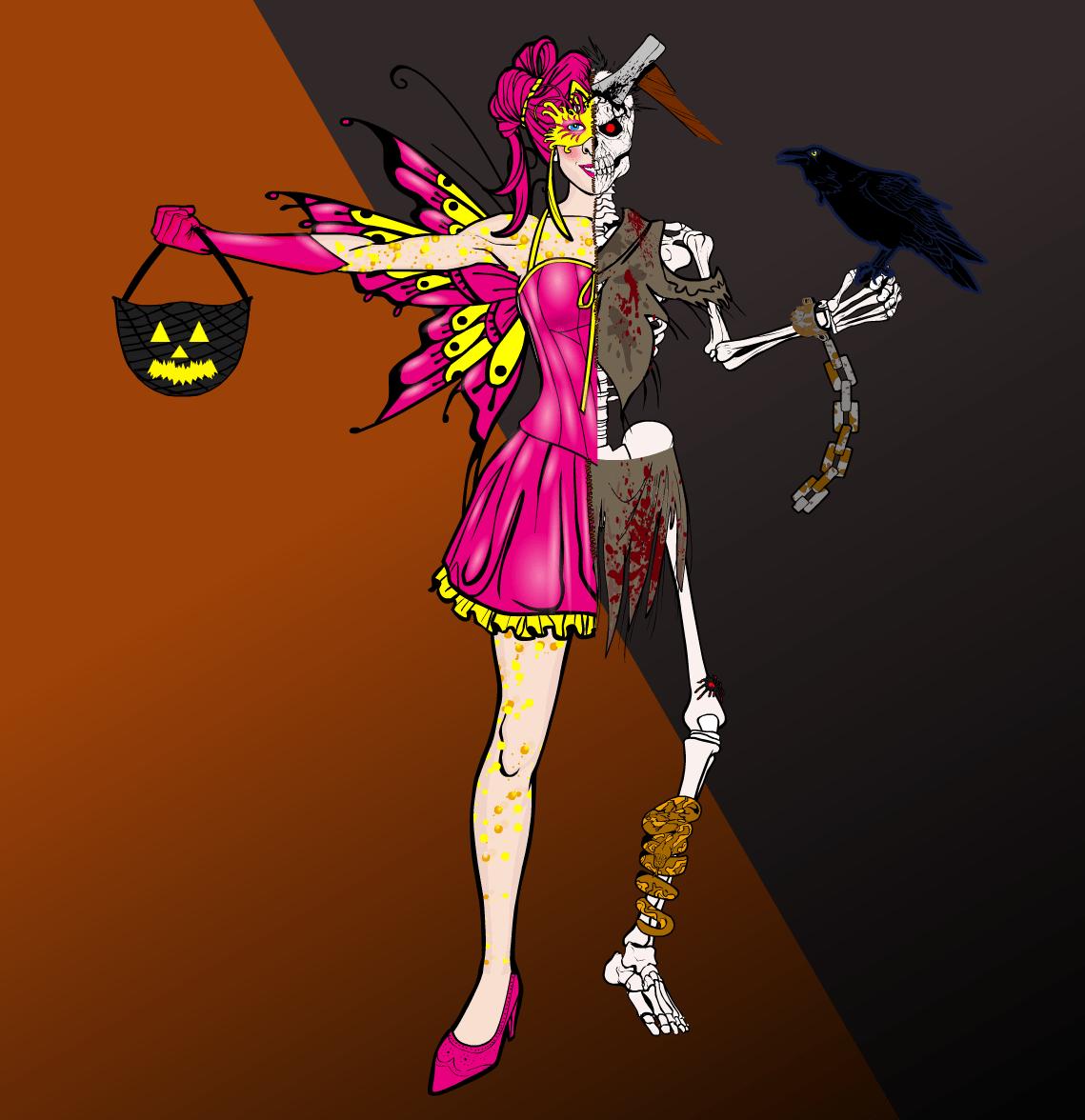 Character Design Challenge 2017 : Character design challenge the spirit of halloween