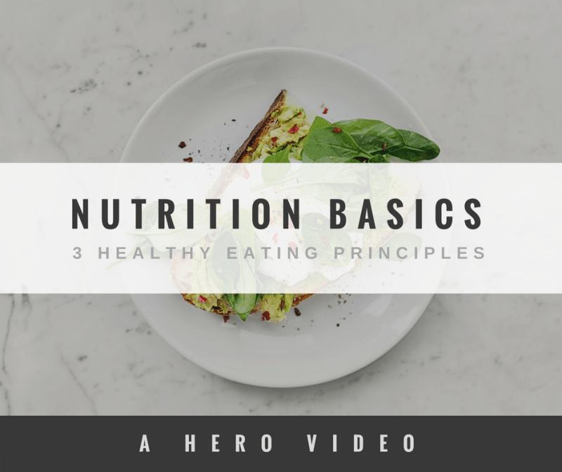 Nutrition Basics HERO Movement Luke Jones