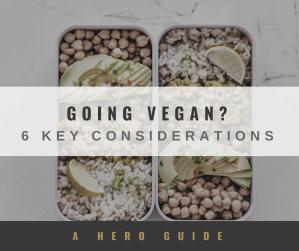 Going vegan gamechangers