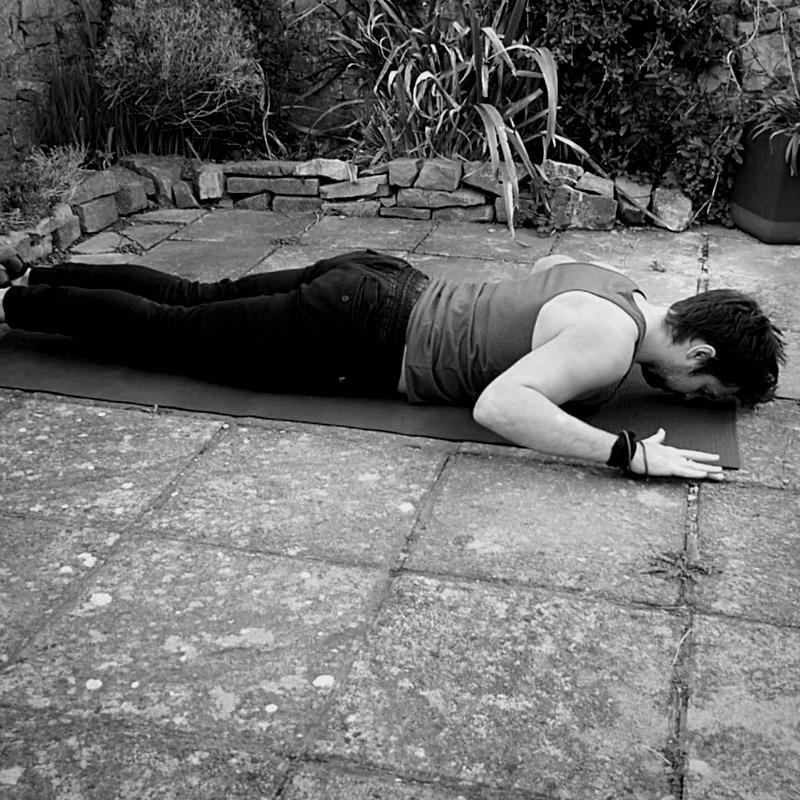 Super man lower back exercises