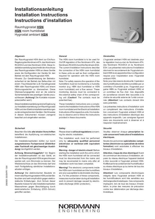 small resolution of nordmann hsn humidistat installation instructions
