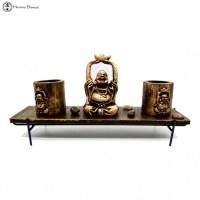 Zen Feng Shui Buddha Candle Set