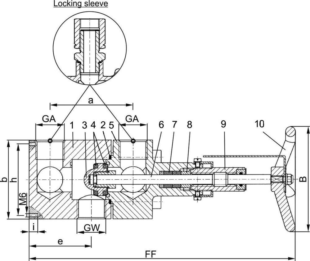 medium resolution of type 06405 changeover valve