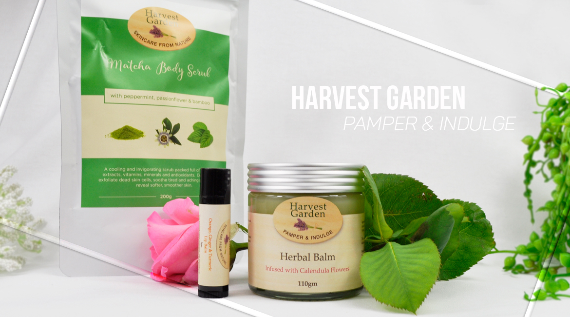 Harvest Garden Skincare from nature