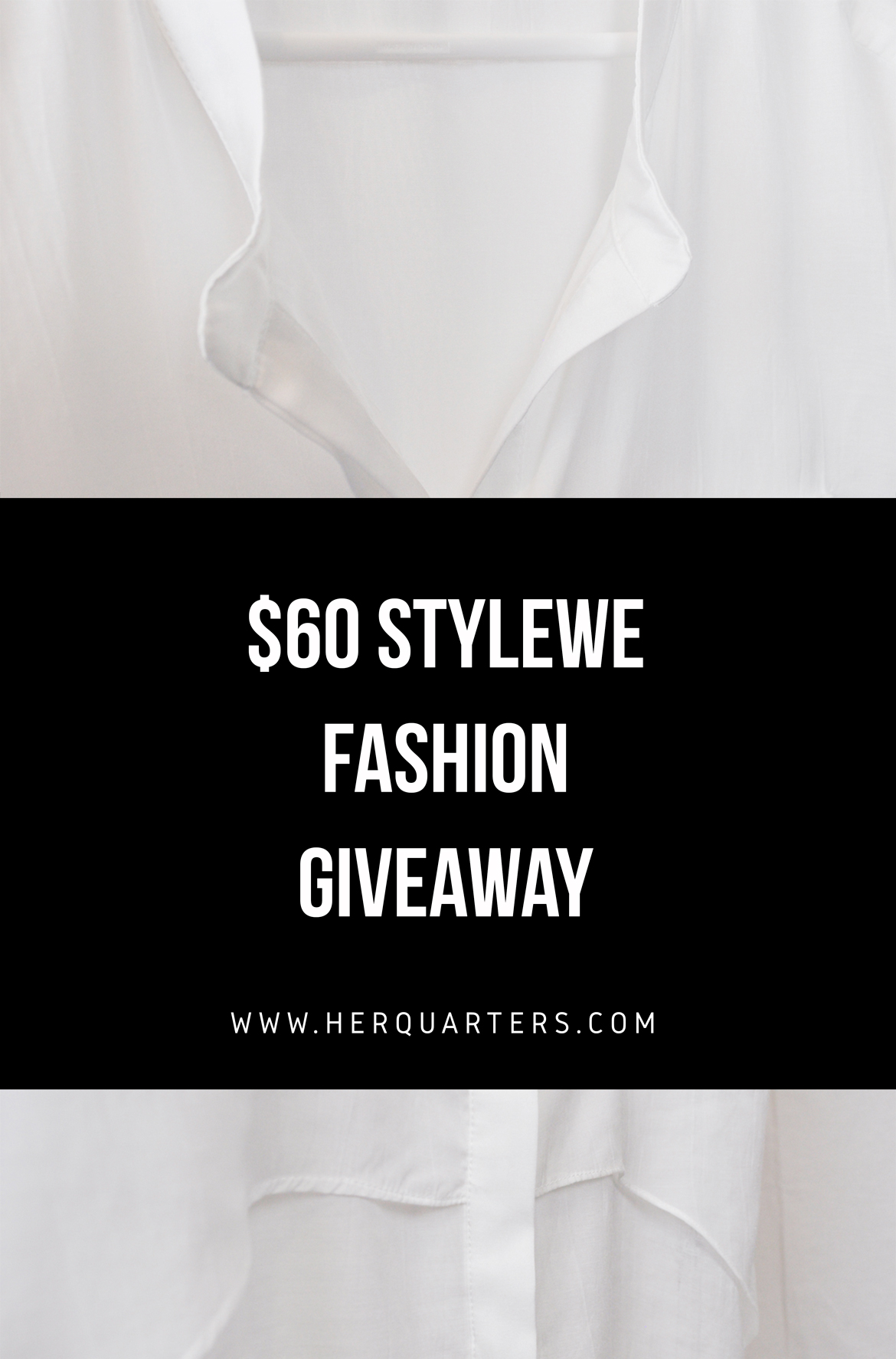 Stylewe Fashion Giveaway