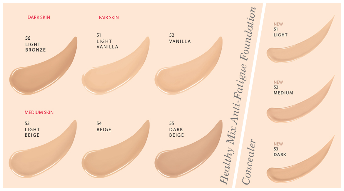 Bourjois healthy mix foundation concealer