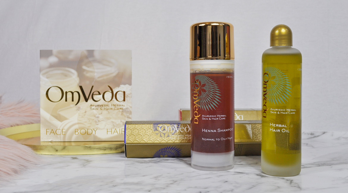 OmVeda Henna Shampoo Herbal Hair Oil