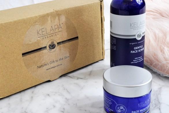 Kelapa organics Moisturiser and Scrub
