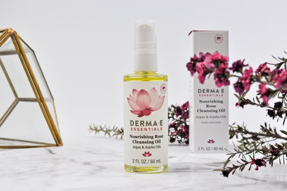 Derma E Rose Cleansing oil