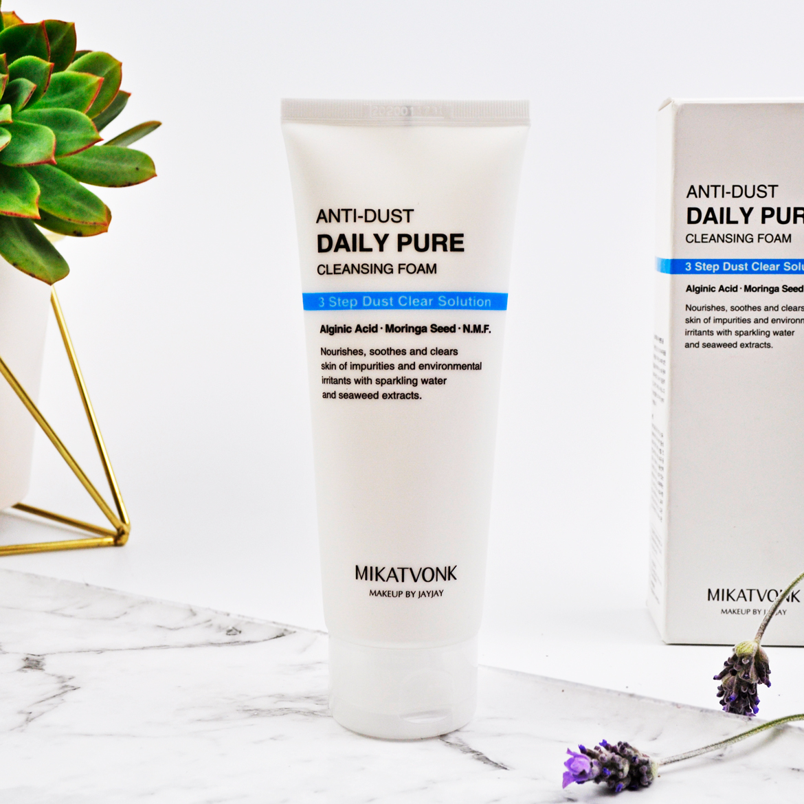 Anti-dust Daily Pure Cleansing Foam