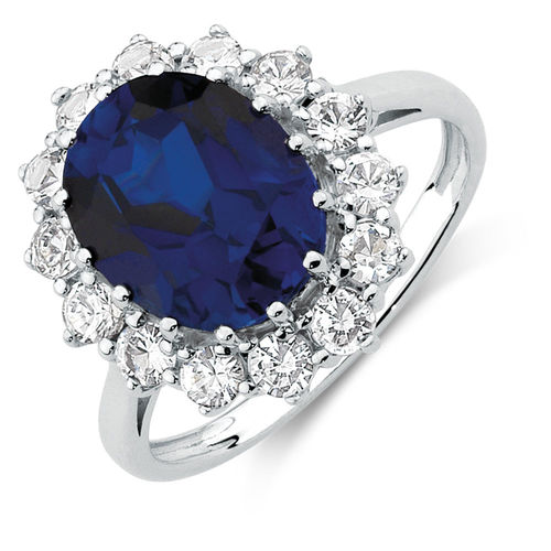 Michael Hill Sapphire Ring