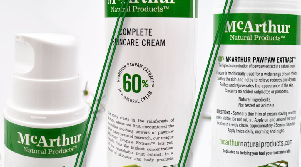 McArthur Natural Products Complete Skincare Cream