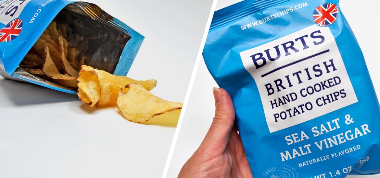 Burts British Hand Cooked Potato Chips