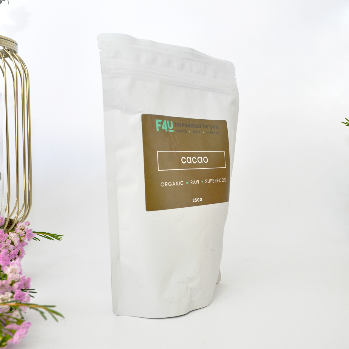 Formulated For you Organic Raw Cacao Powder