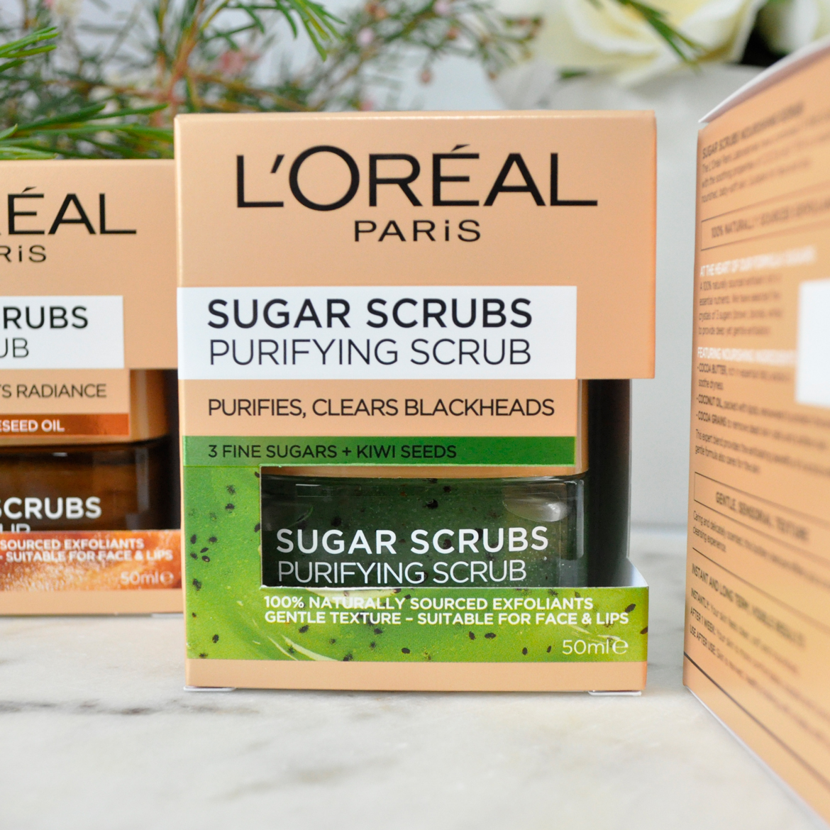 L'Oréal Paris Sugar Scrubs Purifying Scrub