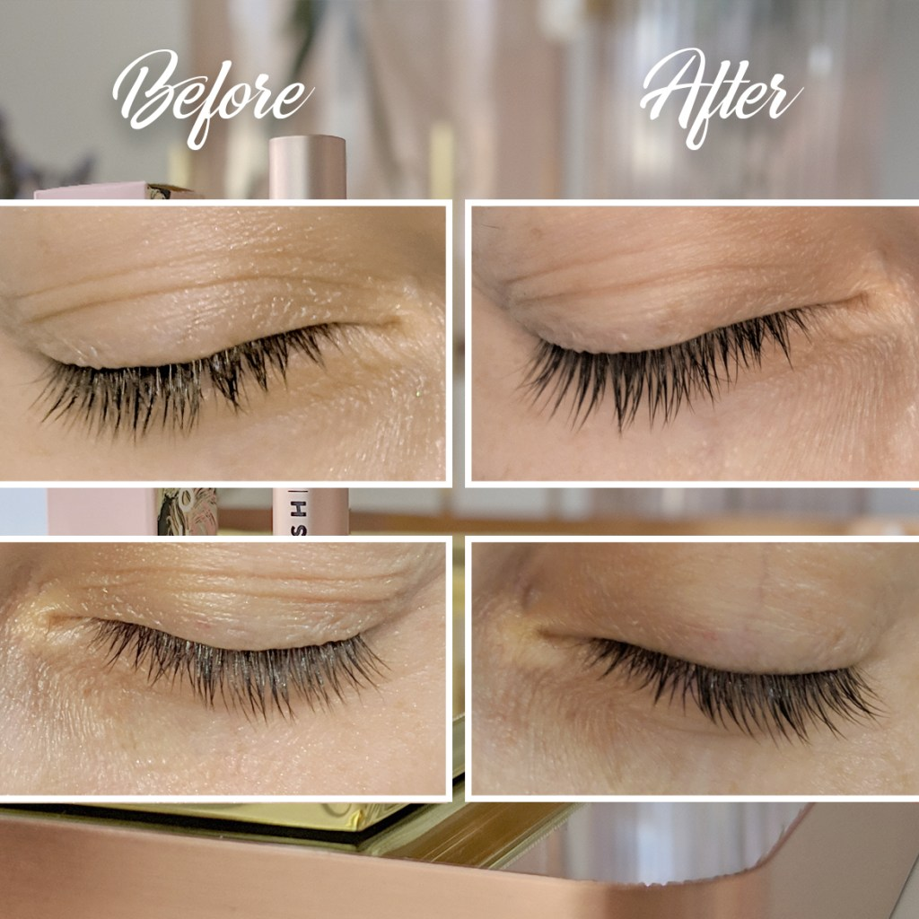 ForLash Eyelash Enhancing Serum before and afters