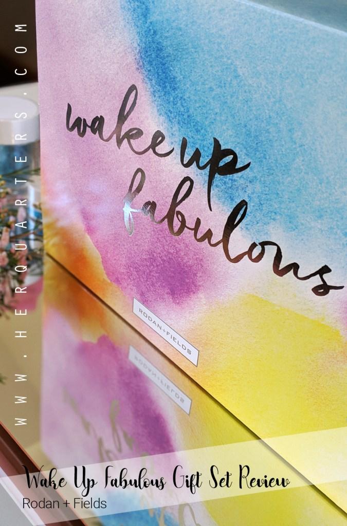 R + F Wake Up Fabulous Gift Set