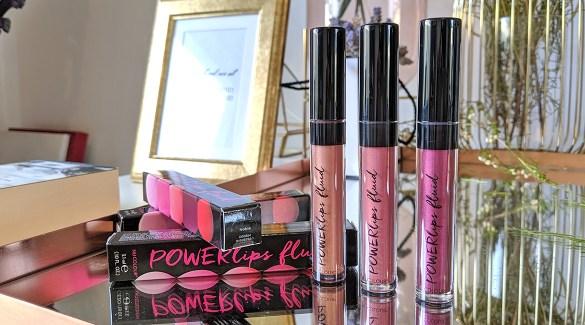 Powerlips fluid liquid lipsticks cover