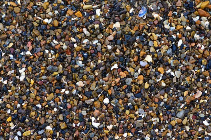 Steinchen am Strand