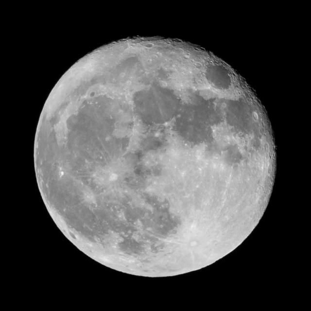 Super-moon at November the 15th 2016
