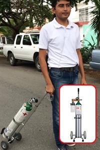 Renta o venta de Oxigeno medicinal concentradores en Cancun Puerto morelos Playa del Carmen