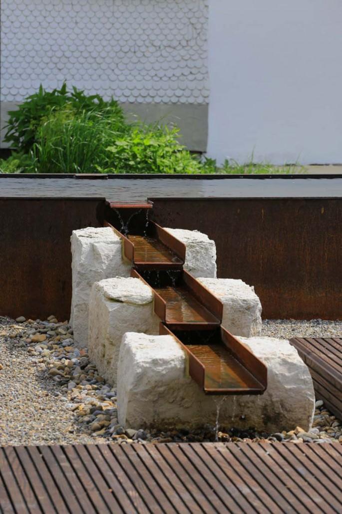Gestalten mit Holz Metall  Naturstein  Herrhammer