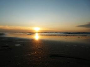 Zonsondergang in Katwijk aan Zee