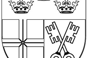 Das Erpeler Wappen zum Ausmalen