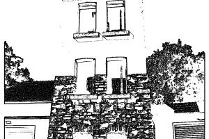 Historischer Feuerwehrturm zum Ausmalen
