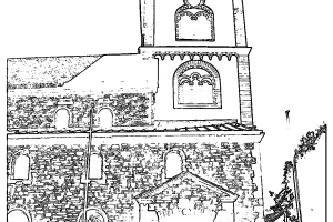 Pfarrkirche St. Severinus zum Ausmalen