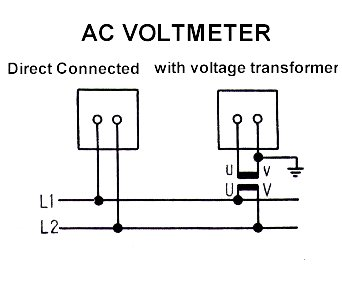 Ac Voltmeter Circuit Diagram