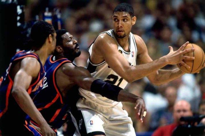 1999 Finaller: Tim Duncan vs Knicks