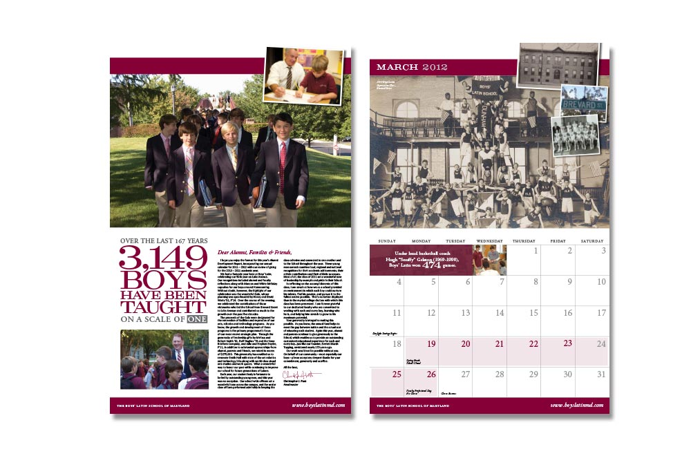 2012 BLS Calendar Spreads