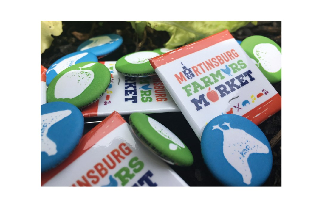 Martinsburg Farmers Market buttons