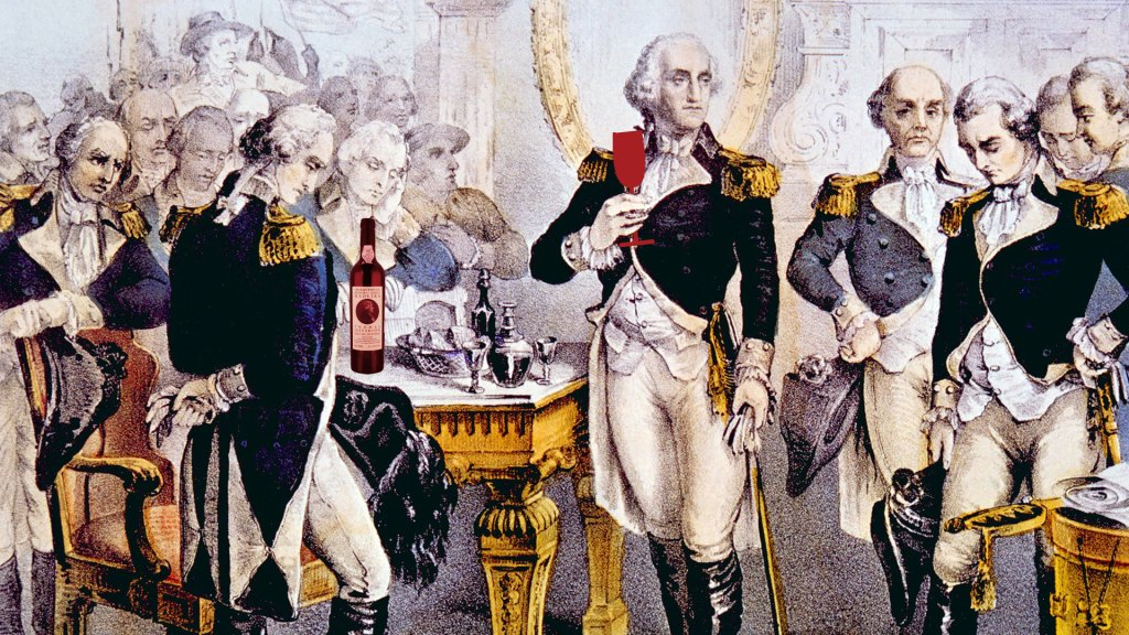 George Washington loved Madeira from a story on Wine Like an American