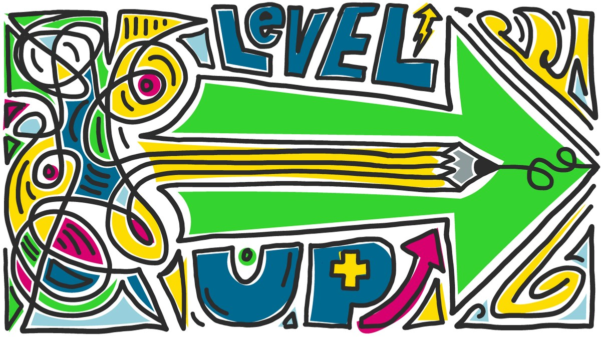 Level Up drawing