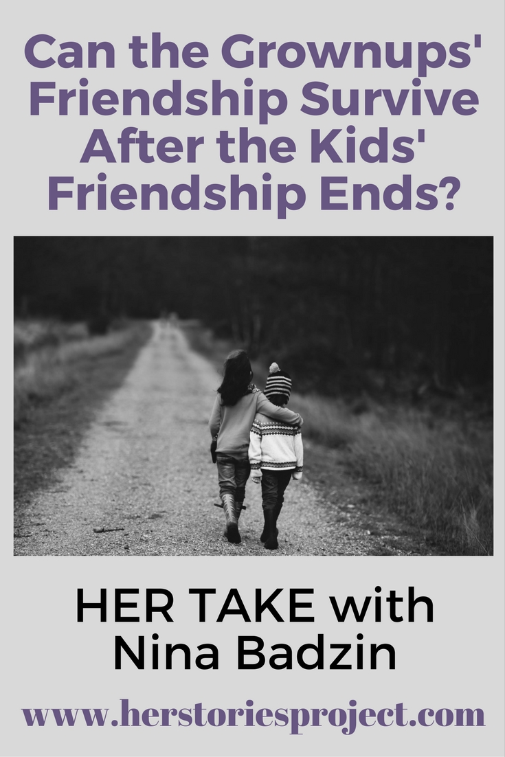 Can The Adults' Friendship Survive After The Children's