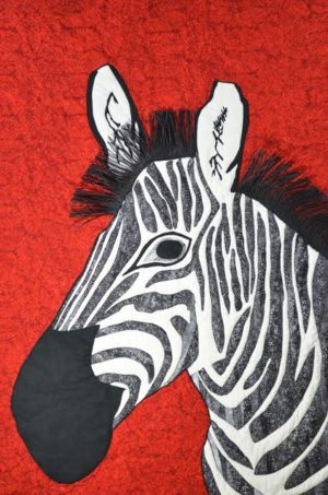 Black and White and Red All Over by Susanne M Jones