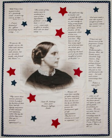 Susan B Anthony © Suzanne Evenson