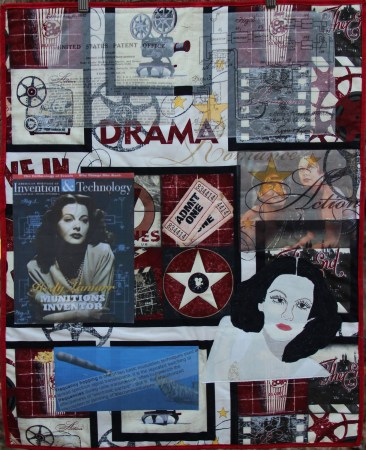 Hedy Lamarr © Kerry Faraone